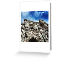 Cathedral Florence Greeting Card