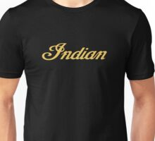 Classic Motorcycle Logos: Indian Unisex T-Shirt