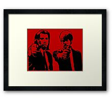 Pulp Fiction - Vincent and Jules Framed Print