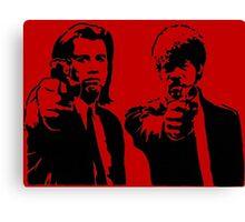 Pulp Fiction - Vincent and Jules Canvas Print