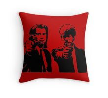 Pulp Fiction - Vincent and Jules Throw Pillow