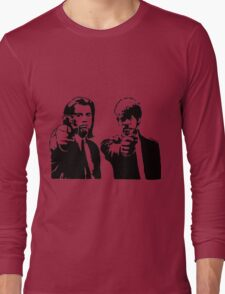 Pulp Fiction - Vincent and Jules Long Sleeve T-Shirt