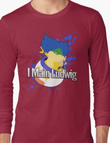 I Main Ludwig - Super Smash Bros Long Sleeve T-Shirt