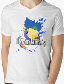 I Main Ludwig - Super Smash Bros Mens V-Neck T-Shirt