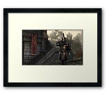 Skyrim Elder Scrolls Framed Print