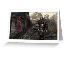 Skyrim Elder Scrolls Greeting Card