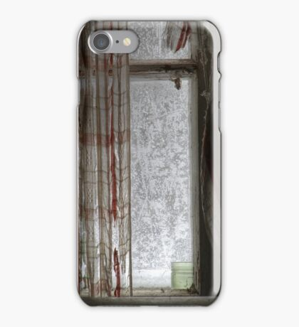 15.1.2016: Old Curtains, Frosty Window iPhone Case/Skin