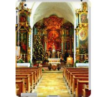 Pilgrimage church of St. Mary's Ascension iPad Case/Skin