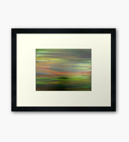 ABSTRACT 498 Framed Print