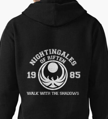 Nightingales of riften - black Pullover Hoodie