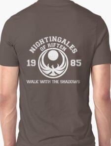 Nightingales of riften - black Unisex T-Shirt