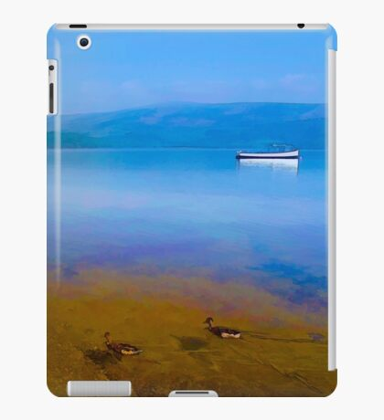Tranquil Lake Painting of Loch Lomond iPad Case/Skin