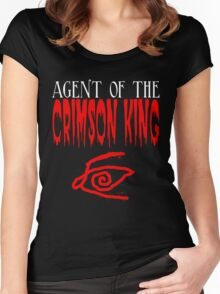 Agent of the Crimson King Women's Fitted Scoop T-Shirt