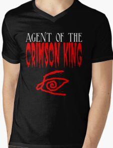Agent of the Crimson King Mens V-Neck T-Shirt