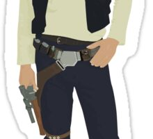 Dylan O'Brien as young Han Solo Sticker