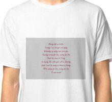 Avicii-Waiting for love  Classic T-Shirt