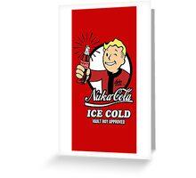 Nuka Cola Greeting Card