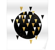 Golden Triangles Poster