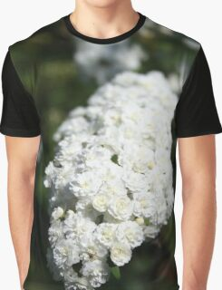 Deutzia White Spring Blossoms  Graphic T-Shirt