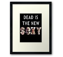 Jim Moriarty Dead is the new Sexy Framed Print