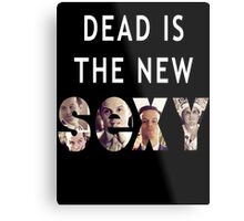 Jim Moriarty Dead is the new Sexy Metal Print