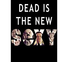 Jim Moriarty Dead is the new Sexy Photographic Print
