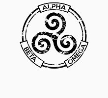 Alpha Beta Omega (Black) - Teen Wolf Unisex T-Shirt