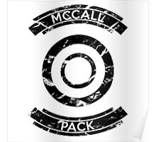 McCall Pack (Black) - Teen Wolf Poster