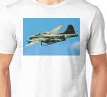 P-63A Kingcobra with B-17G Fortress II Unisex T-Shirt