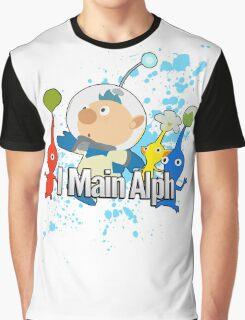 I Main Alph - Super Smash Bros Graphic T-Shirt