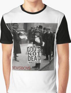 Newsboys We Believe God's Not Dead Tour 2016 PG01 Graphic T-Shirt