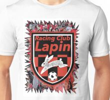 Racing Club Lapin - Jagged Sports Badge Unisex T-Shirt