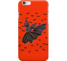 Batty the vampire bat  iPhone Case/Skin