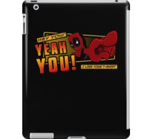 Crimson Complimenter iPad Case/Skin