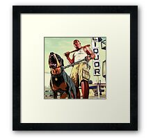 franklin clinton Framed Print