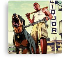 franklin clinton Canvas Print