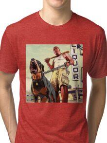 franklin clinton Tri-blend T-Shirt