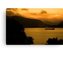 Loch Linnhe Sunrise Canvas Print