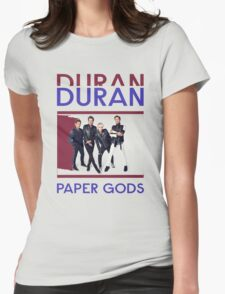 Duran  Paper Gods On Tour 2016 Womens Fitted T-Shirt