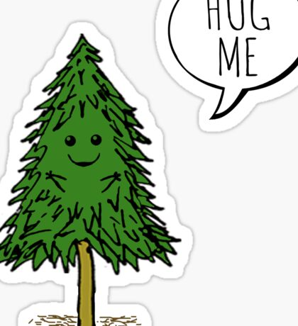 Treehugger Sticker