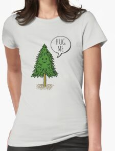 Treehugger Womens Fitted T-Shirt