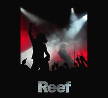 Reef (The Band) Live Shirt by Paul Shellard