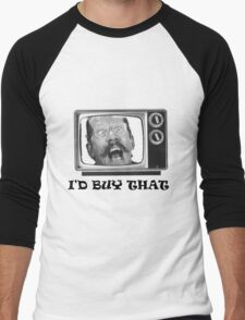I'D BUY THAT... (text) Men's Baseball ¾ T-Shirt