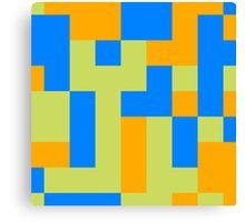 Tetris shapes Canvas Print