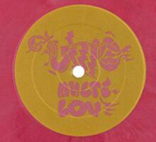 Unknown Mortal Orchestra - Multi-love vinyl Sticker