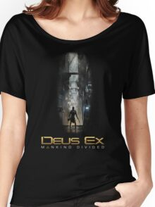 Deus Ex Mankind Divided Women's Relaxed Fit T-Shirt
