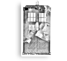 The Husband of River Song  Canvas Print