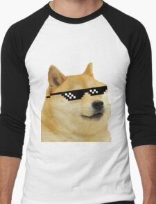 DOGE Men's Baseball ¾ T-Shirt