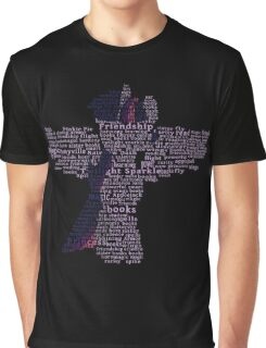 My Little Pony - Twilight Sparkle Typography Graphic T-Shirt