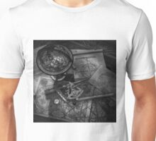 Old World Travel bw Unisex T-Shirt